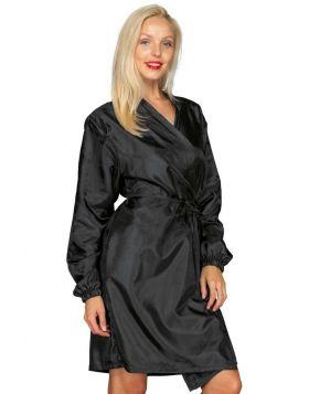 Disposable Washable Black Kimono Isacco