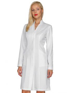 Acapulco Bohème woman white coat 100% polyester Bohème
