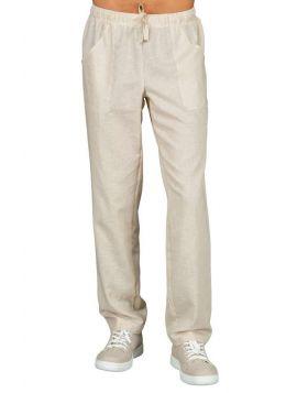 Pantalone Lino uomo donna con laccio | Isacco