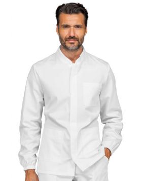 Men's tunic with Korean collar with zip