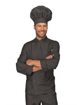 Chef Jacket SNAP BLACK JEANS