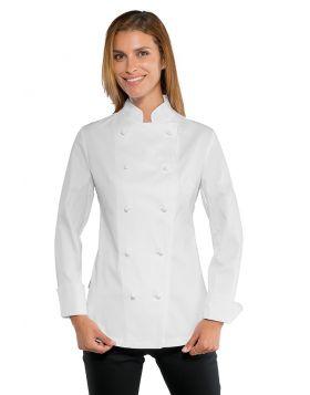 Chef jacket Lady SUPER STRETCH WHITE