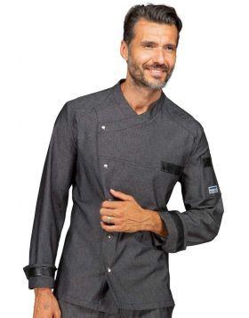 Giacca Cuoco Black Jeans Erickson Slim unisex Isacco