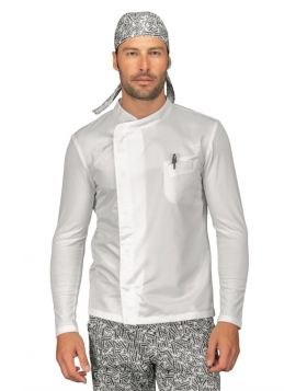 GIACCA FRANKLIN JERSEY BIANCO + SUPERDRY