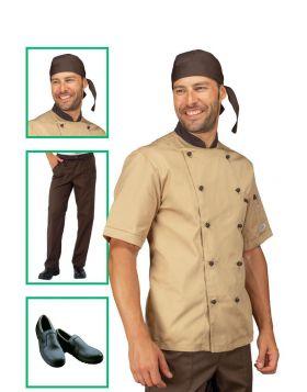 Chef uniform - Biscuit Jacket