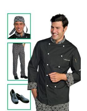 Chef uniform - Jacket White Maori