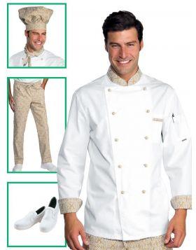 Chef uniform - Maori Jacket Beige