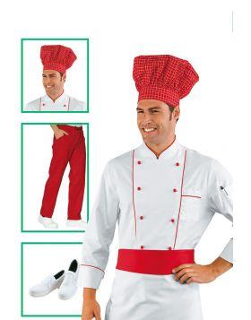Chef uniform - Chef Jacket Red