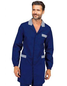 Camice uomo Blu+Riga Blu Isacco