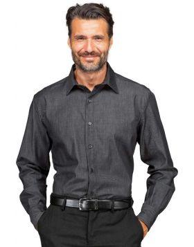 Camicia unisex Black light Jeans stretch Nevada cotone