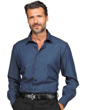 Camicia unisex light Jeans stretch Nevada