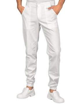 PANTALONE UOMO RICHMOND SUPER STRETCH BIANCO