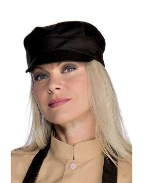 Waiter hat dark brown