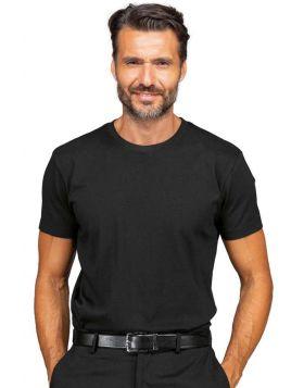Maglietta girocollo nera