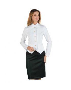 Hotel uniform  Woman - Skirt and Jacket White