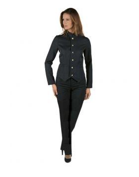 Hotel uniform Hall Women - pants and Jacket Black