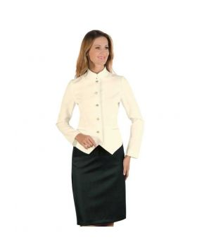Hotel uniform  Woman - Skirt and Jacket Cream