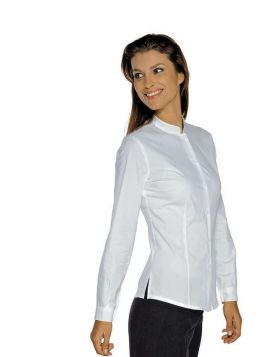 CAMICIA CAMERIERE HOLLYWOOD STRETCH BIANCA  MANICA LUNGA