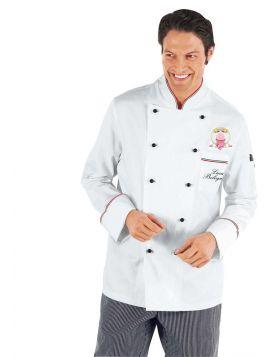 Offerta riservata ai soci dell'associazione Nazionale Cake Designers Italia. Giacca Cuoco Prestige