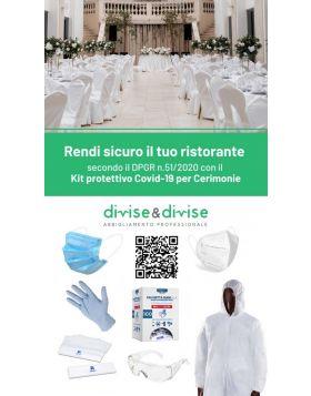 KIT Ristoranti e Cerimonie DPGR 51/2020 Regione Campania