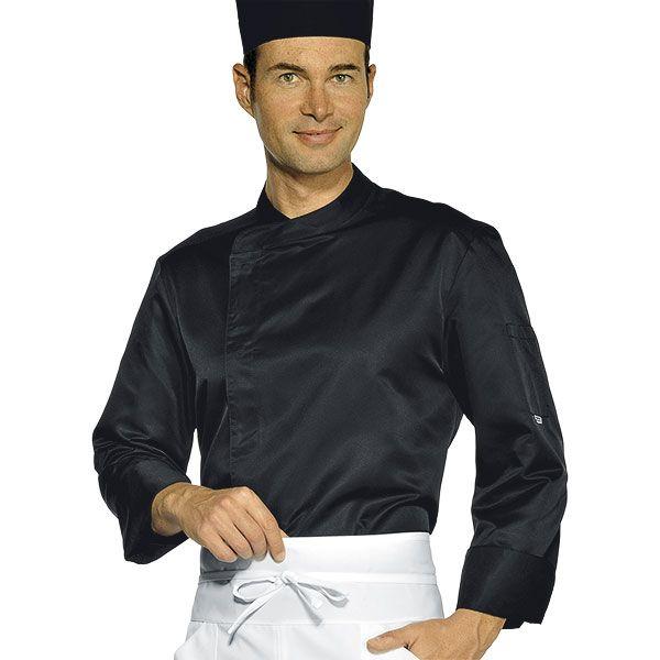 Giacca Cuoco Isacco Malaga Nera