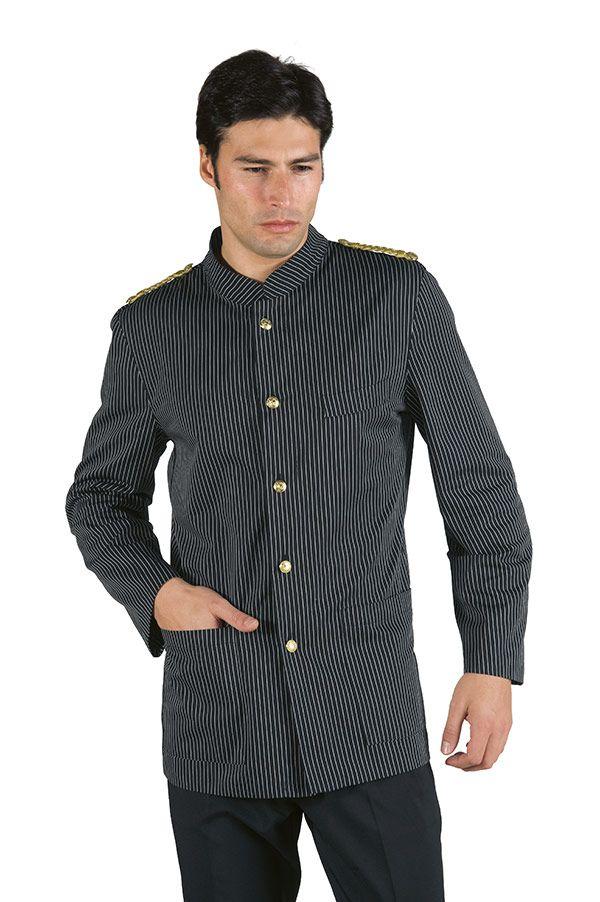 giacca nera coreana cameriere