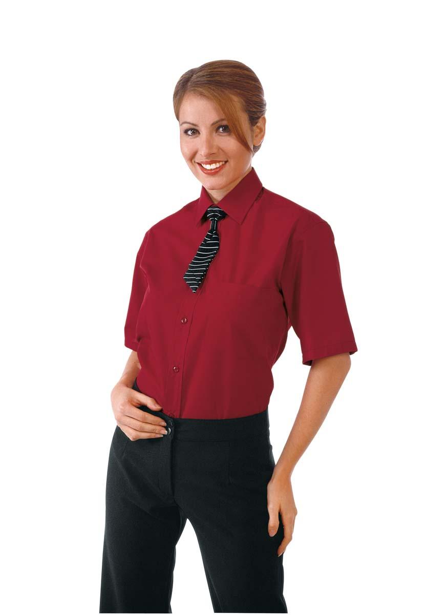 Camicia per Barman e Cameriere di Sala unisex mezza manica