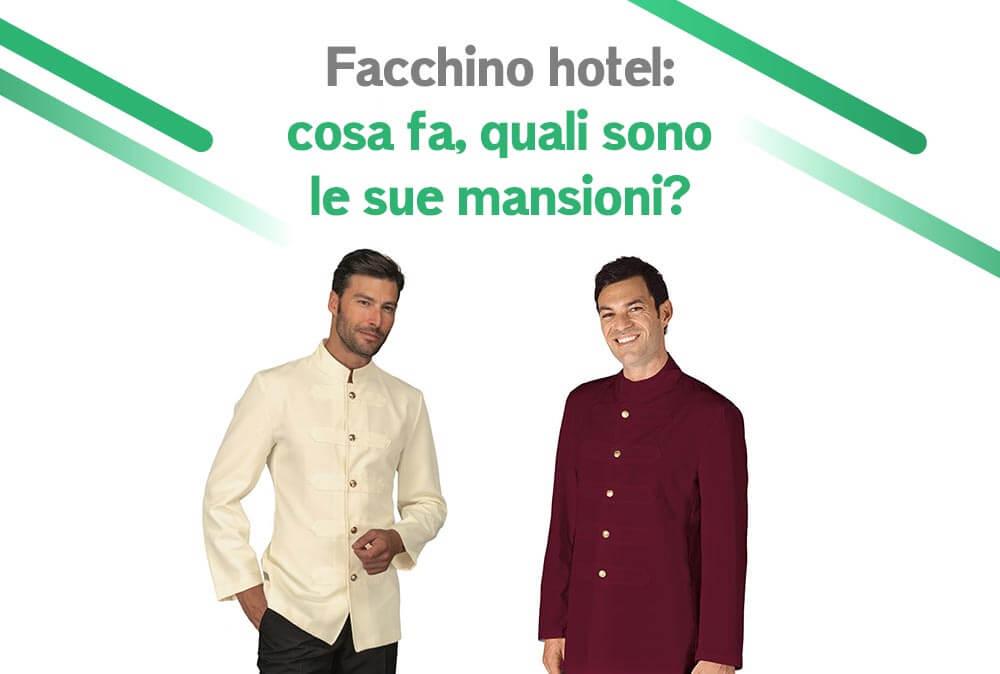 Facchino hotel: cosa fa e quali sono le sue mansioni