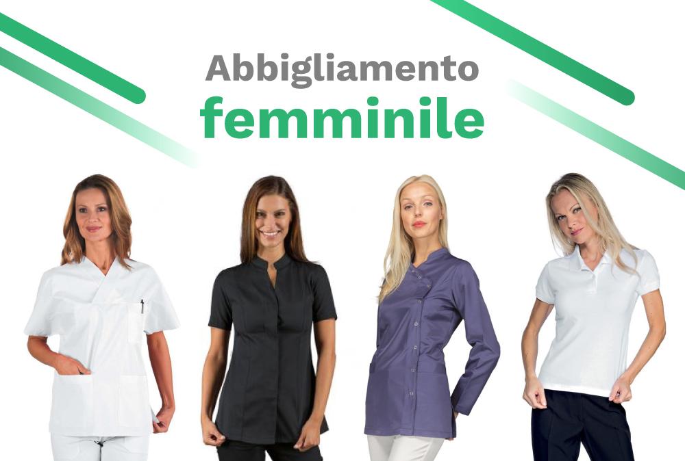 Abbigliamento da lavoro donna: divise al femminile per ogni settore