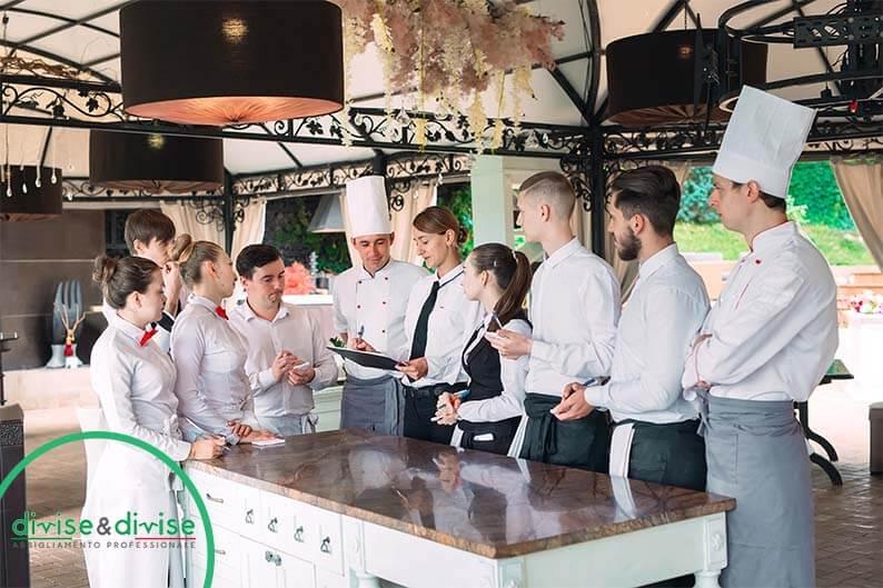 Brigata di sala: come collabora la cucina e la sala di un ristorante