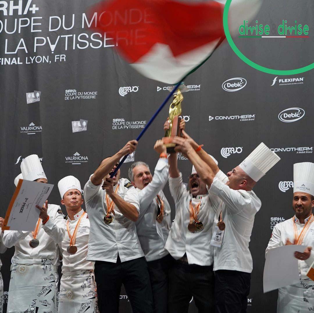 Campioni del mondo di pasticceria 2021: chi sono i pasticceri italiani vincitori della coppa