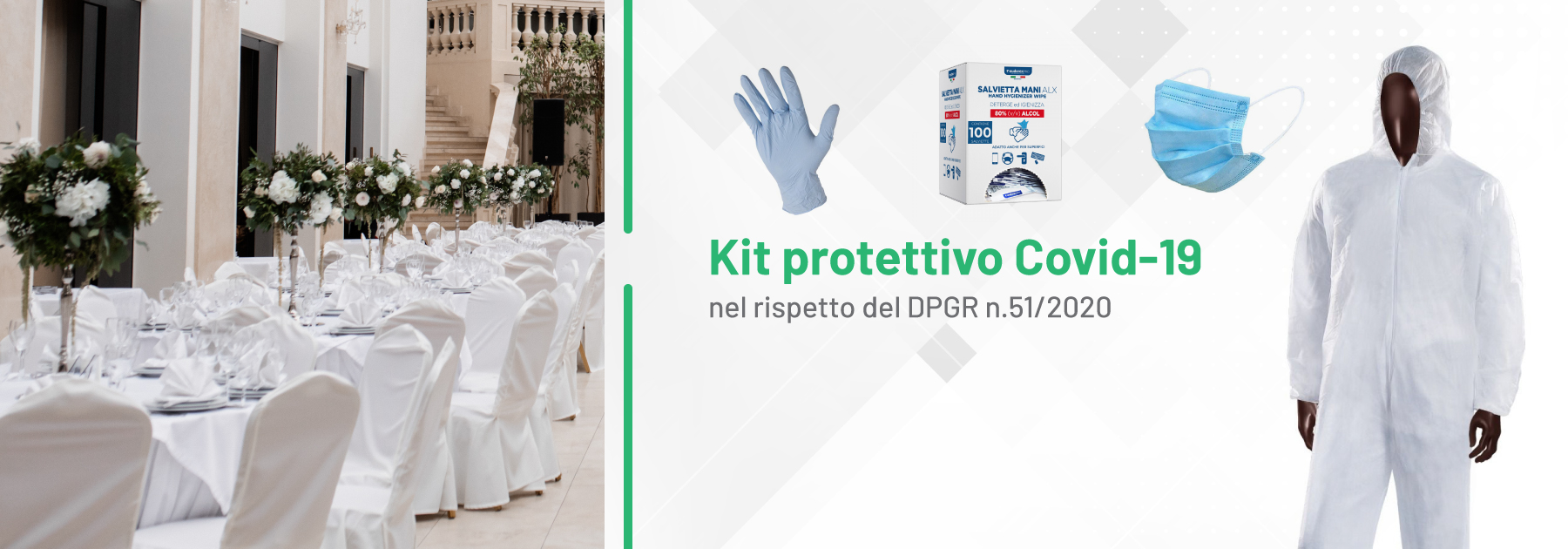 Kit protettivo DPGR 51/2020