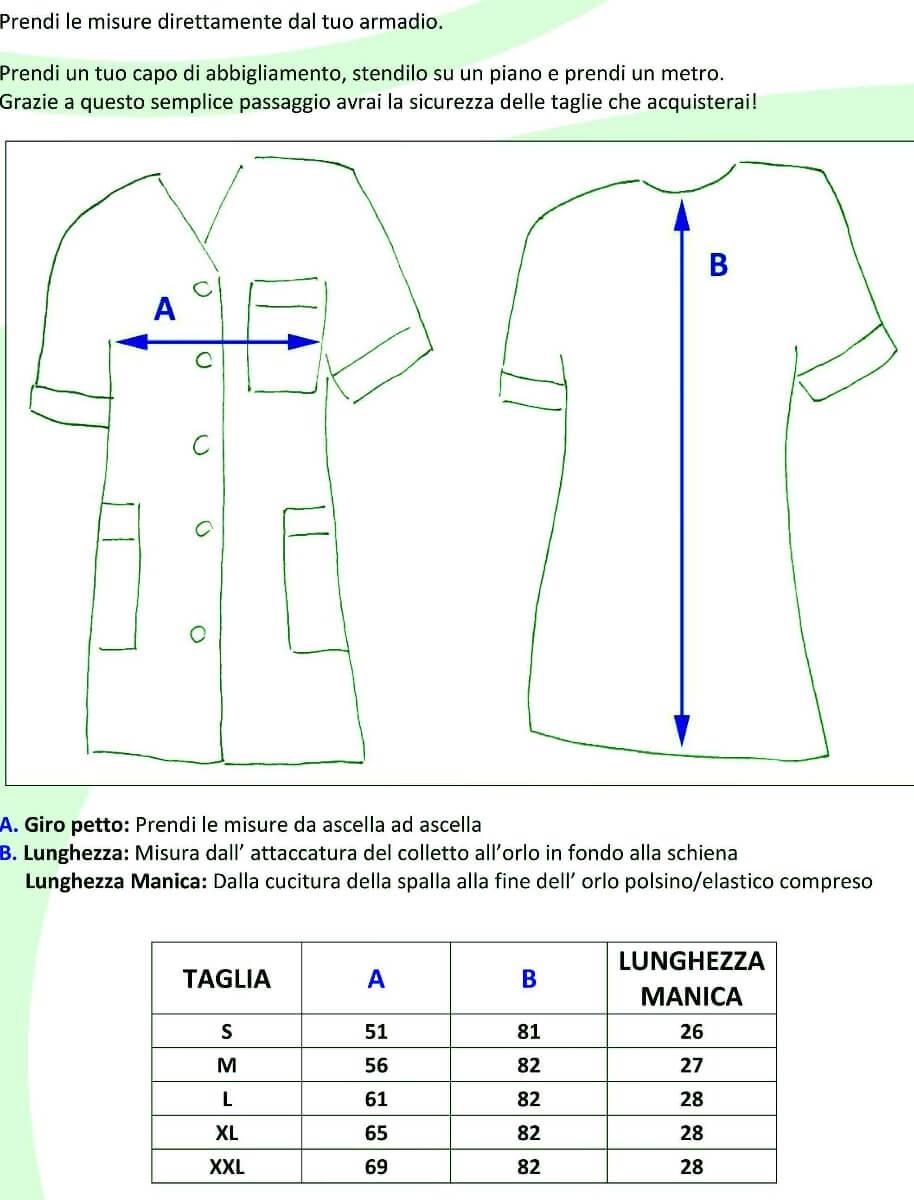 CASACCHE MEDINA - DETTAGLI TAGLIE