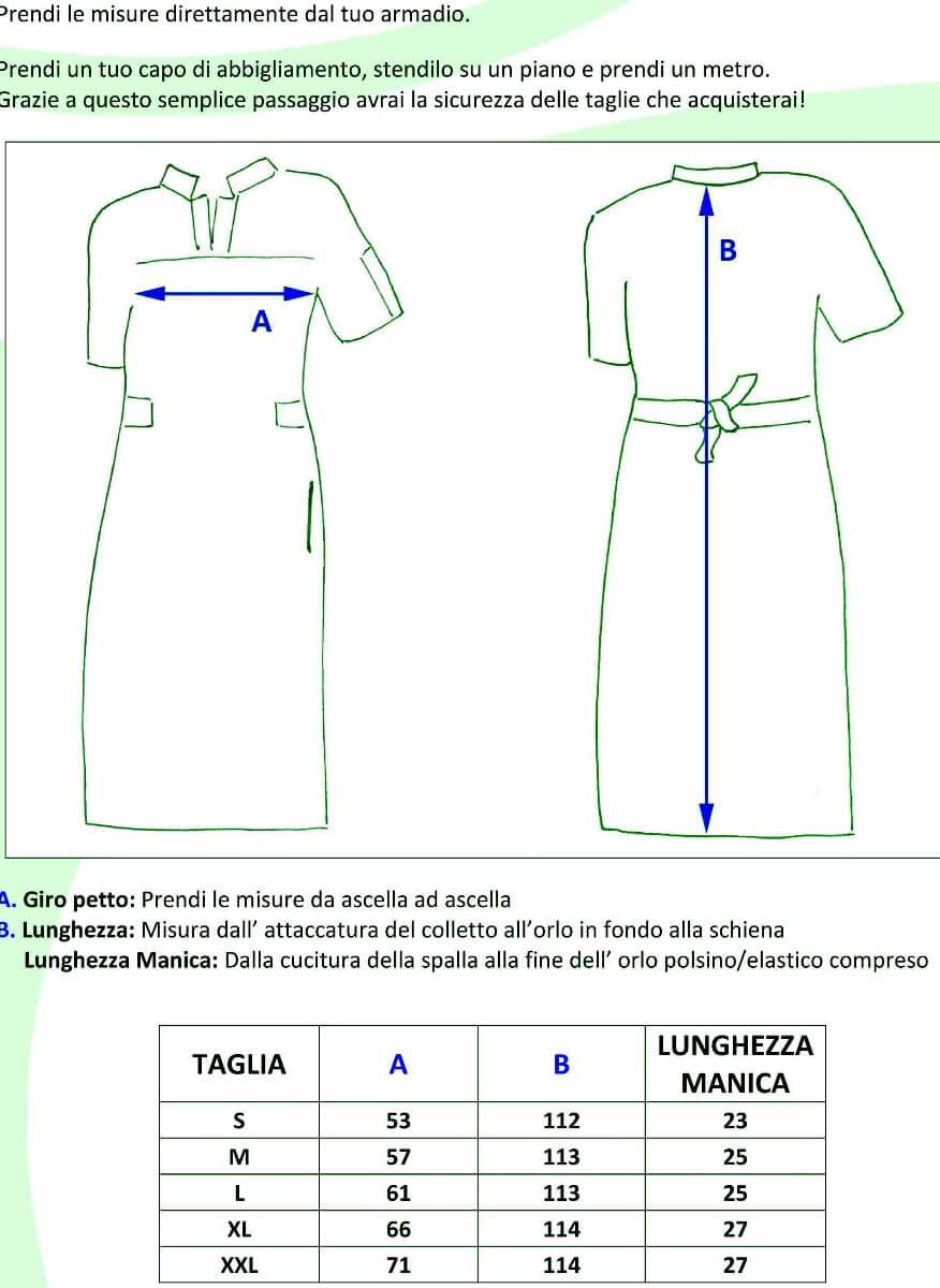 CASACCHE CIPRO - DETTAGLI TAGLIE